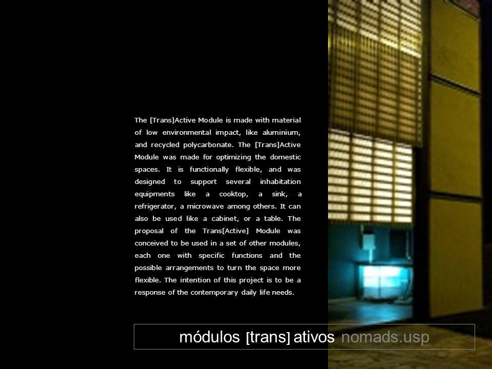 módulos [trans] ativos nomads.usp